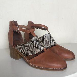Jeffrey Campbell Brown Booties Size 7.5